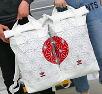 2 x Adidas Issey Miyake Couples Backpack 3D Mesh Backpack Roll Top