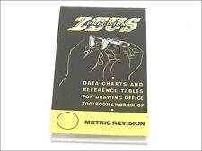 Libro de datos de los ingenieros de precisión Zeus Gráfico gráficos tablas de referencia de Tamaños