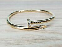 Nail Style Bracelet Bangle Cuff Screw High Quality Bangle Wome Perfect Gift Love