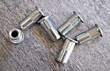 50 x Gewindenieten M6 Stahl ab 0,5 mm Blindnietmutter Gewindeniete Nietmuttern