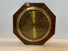 Antique A. S. Aloe & Co. St.Louis Tycos Mahogany & Brass Barometer