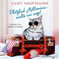 SABINE ARNHOLD - GABY HAUPTMANN: PLÖTZLICH MILLIONÄRIN-N.W.W.! HÖRBUCH 2 CD NEW