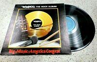 VINYL ALBUM RECORD,*RARE* WRNO FM 100, THE ROCK ALBUM,BIG MUSIC,VARIOUS ARTISTS