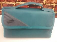 American Tourister Cosmetic Bag Toiletry  Soft Shower Removable Teal/Green