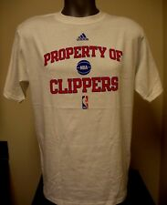 New adidas Los Angeles Clippers Men's White Property of Clippers NBA LA T-Shirt