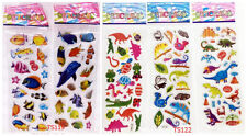 Cute 5pc Cartoon Animals Stereoscopic Puffy Stickers Teacher Reward Kids Gift Us
