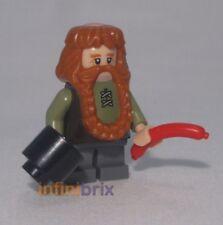 LEGO CUSTOM Bombur per Hobbit Nano minifigura Nuovo di Zecca cus115