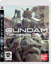 SONY PLAYSTATION 3 PS3 MOBILE SUIT GUNDAM TARGET IN SIGHT PAL ITA NO MANUALE