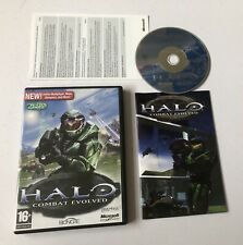 Halo: Combat Evolved PC CD-ROM Complete PAL Bungie