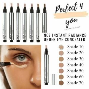 No7 Instant Radiance Under Eye Dark Circle Concealer Pick your Shade Brand NEW