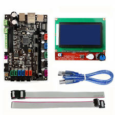 MKS SBASE V1.3 32-Bit Controller Board +12864 LCD Display for 3D Printer