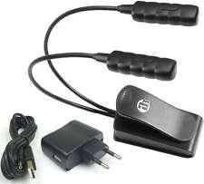 Ultrahelle Klemmlampe Leselampe SLED2ULTRA + Trafo USB-Kabel Schwanenhalsleuchte