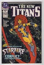 The New Titans Annual #6 (1990) [Starfire] Marv Wolfman Curt Swan Tom Grindberg