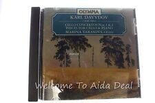 Davydov: Cello Concertos, Nos.1 & 2/Drei Salonstucke/Barcarola/Adieu (CD, Aug...
