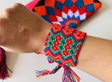 Bracelets Wristband Double Layer Colombian Wayuu Friendship Woven Handmade
