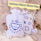 Cartoon Transparent Hand Warmer Hot Water Bottle Portable Hand Warmer Bot E^