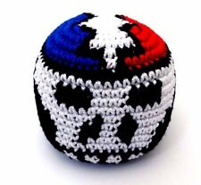 Hacky Sack Deadhead SYF Lightning Bolt Boota Bag Crochet Footbag Guatemalan New