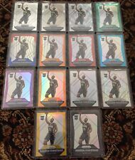 2015-16 Prizm Rakeem Christmas Complete Rainbow 1/1 Black Gold White Sparkle RC