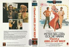 THERE'S A GIRL IN MY SOUP PETER SELLERS GOLDIE HAWN DIANA DORS RARE PALVHS VIDEO