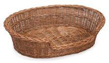 Prestige Wicker Dog Bed Basket 75 Cm 75cm X 60cm X 17cm