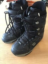 DC Mens Snowboard Boots Size 11.5 Black Phase