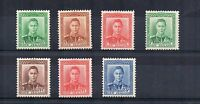 New Zealand 1938-44 set to 3d MNH/MLH