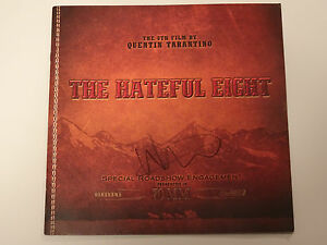 WALTON GOGGINS SIGNED AUTOGRAPHED THE HATEFUL EIGHT PROGRAM QUENTIN TARANTINO