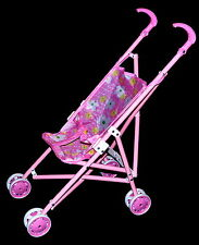 Kinder Puppenwagen Kinderwagen Buggy Puppenzubehör Stofftiere Puppe Kuscheltier
