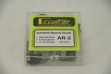 Circuitron Automatic Reverse Circuit Ar-2 5 Amp Capacity Adjustable Delay Nip