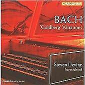 Steven Devine - Bach: Goldberg Variations [CD]