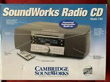 New listing Cambridge Soundworks Radio Cd Model 740 w Remote in Original Box