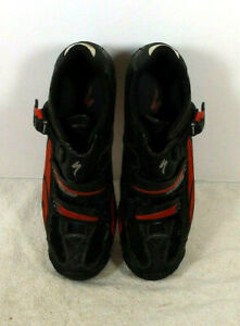 Specialized Body Geometry Cycling Mountain Bike Shoes Black & Red Size 13