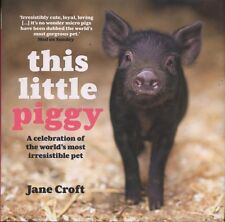 NEW PIG BOOK This Little Piggy by Jane Croft