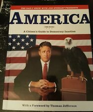 The Daily Show A Citizens Guide to America John Stewart Hardcover Humor