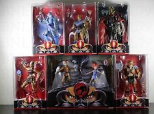 ALL 6 THUNDERCATS CLASSIC Mattel Third Earth Lion-O Panthro Mumm-Ra COMPLETE SET