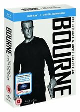 "THE COMPLETE BOURNE 1-5 MOVIE COLLECTION 5 DISC BOX SET BLU-RAY RB ""NEW&SEALED"""