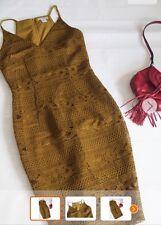 New H&M khaki dress lecy bodycone