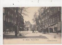 Biarritz Place De La Mairie France Vintage Postcard 887a