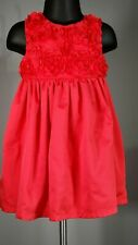 """""""Just One You by Carter's Baby Girls """"Rose Dress"""" - Size 18 Mos / Pre-Owned"""