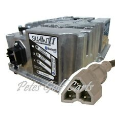 Ezgo Golf Cart Battery Charger 48 Volt Lester Summit II Series TxT Rxv Connector