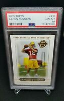 2005 Topps Aaron Rodgers Rookie Card RC #431 PSA 10 GEM MINT Packers