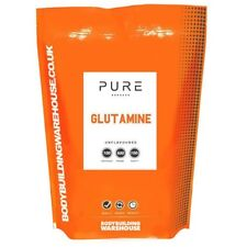 Bodybuilding Warehouse B32-U-1 Unflavoured 1 Kg Pure L-glutamine Powder