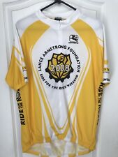 Livestrong jersey RIDE FOR THE ROSES Full Zip S/S Cycling Jersey (rare)