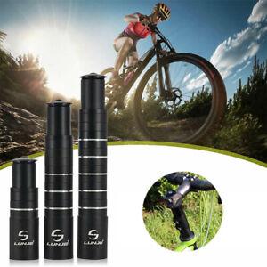 Bicycle Fork Stem Extender Handlebar Riser Extension Adapter For Mountain Bike