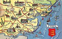 B60044 Maps Cartes geographiques Essex