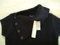 Bench $149 NWT Sz L US 10 EUR 40 Wool Blend Knit Jumper Tunic Sweater Dress L@@K