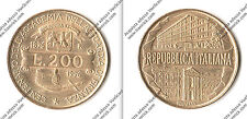 REPUBBLICA ITALIANA - LIRE 200 - CENTEN. ACCADEMIA GUARDIA DI FINANZA 1896-1996
