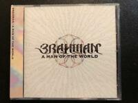 BRAHMAN - A MAN OF THE WORLD (JAPAN OBI  CD) New Sealed Ships 1st  Class