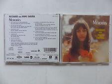 CD Album RICHARD & MIMI FARINA Memories VMD 79263-2 Folk