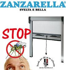 Zanzariera Zanzarella Finestra Zanzariere economica molla avvolgibile su misura